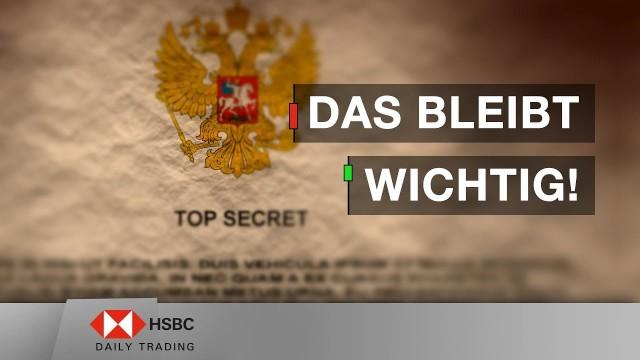 Best of 2018: Part II - Das bleibt wichtig! - HSBC Daily Trading TV vom 22.01.2019