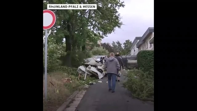 Sturm Fabienne wütet in der Region