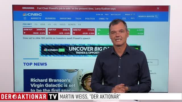 US-Markt: Anleger werden wieder vorsichtig