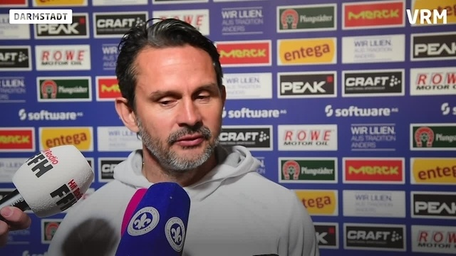 Lilien-Trainer Dirk Schuster zum Spiel gegen Duisburg