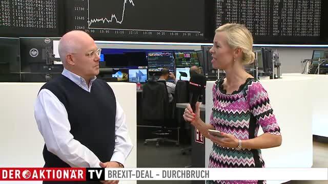 EILT: Brexit-Deal! DAX über 12.700, Pfund stark - Erleichterungsrallye?