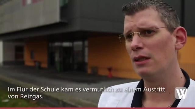 Wiesbaden: Reizgas an der Kerschensteinerschule