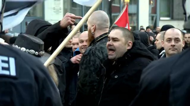 Pegida-Demonstration in Köln