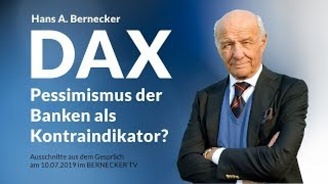 DAX - Banken-Pessimismus als Kontraindikator?