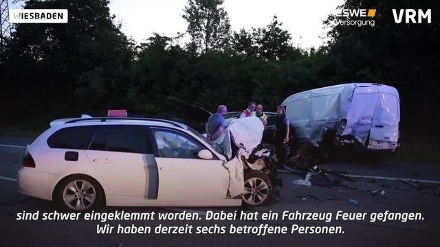 Tödlicher Verkehrsunfall auf der A671
