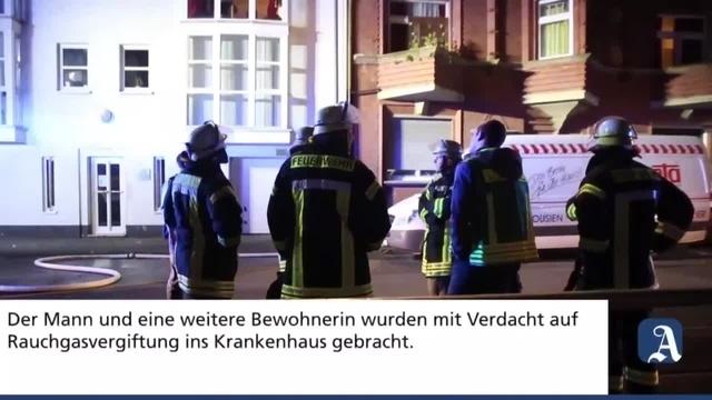 Mainz: Küchenbrand in der Neustadt