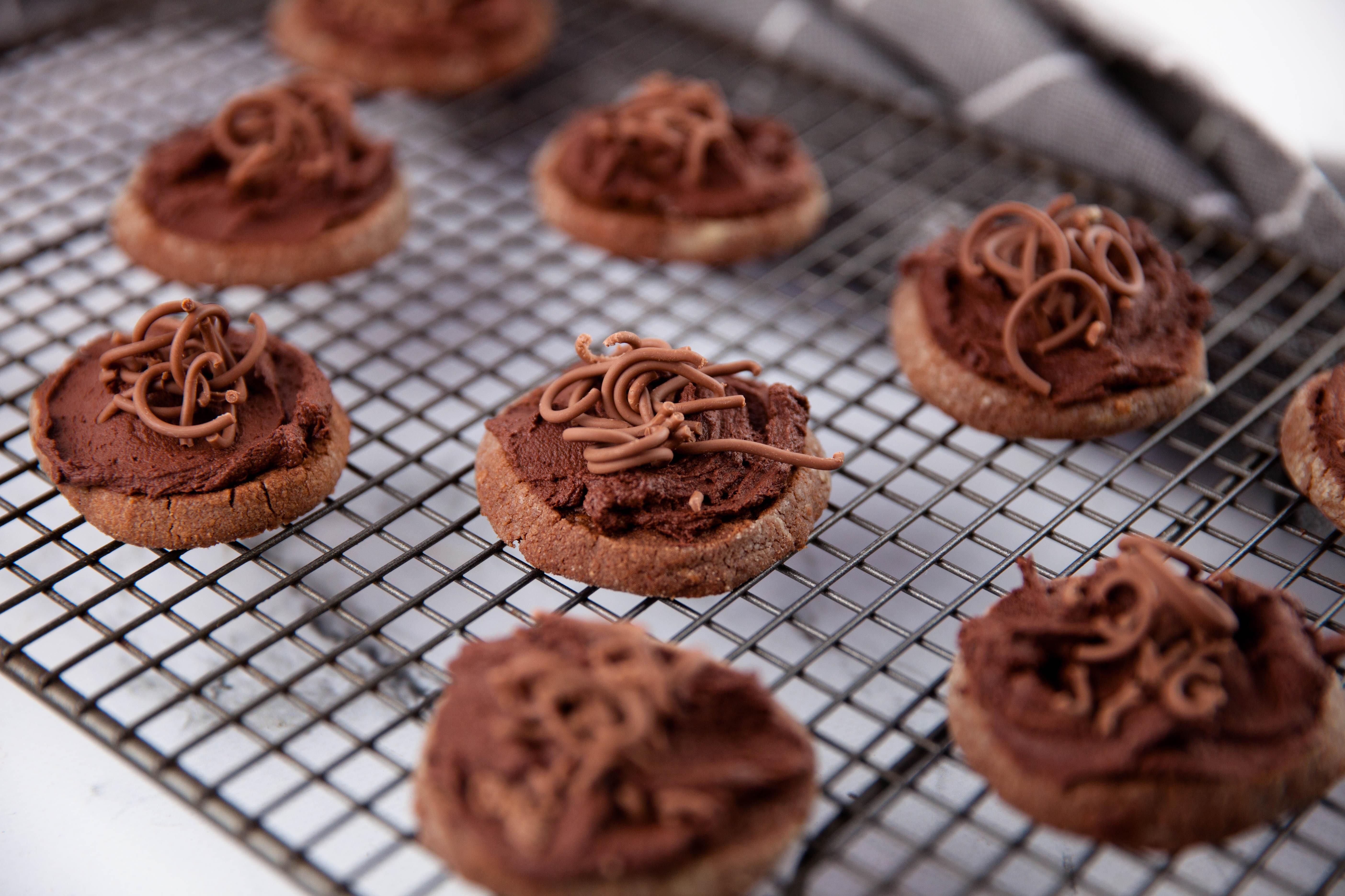 Schokoladen-Zimt Kekse