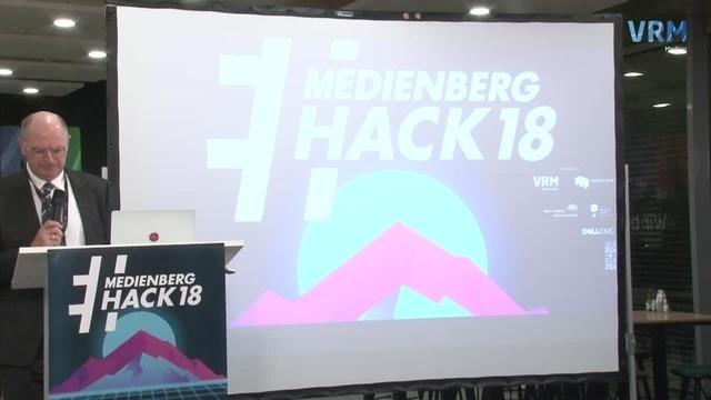 Der Auftakt des #Medienberghack18