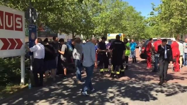 Verwirrter Täter stürmt Kino in Viernheim - und wird von der Polizei erschossen