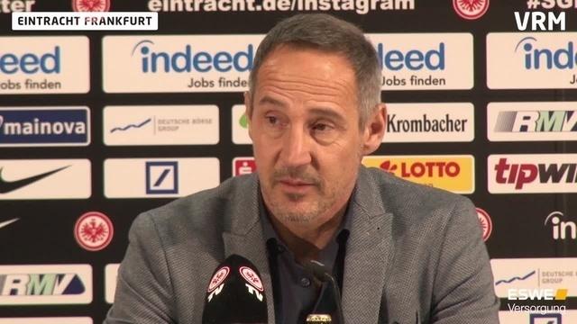 Adi Hütter:Ich sehe die Bayern als Favorit