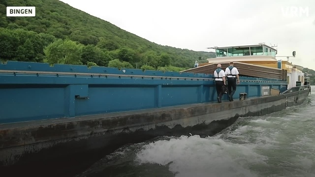 Unterwegs mit der Wasserschutzpolizei Bingen