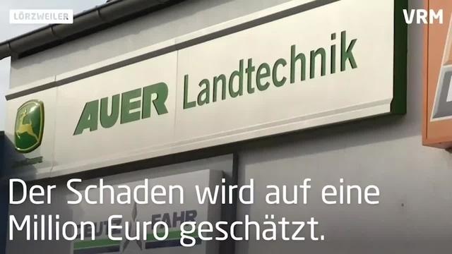 Nach Großbrand in Lörzweiler: So geht es mit dem Familienbetrieb weiter