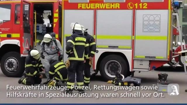 Feuerwehreinsatz in Bad Kreuznach