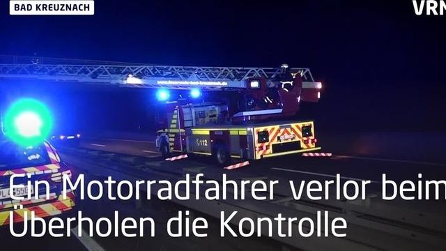 Bad Kreuznach: Motorradfahrer verunglückt tödlich
