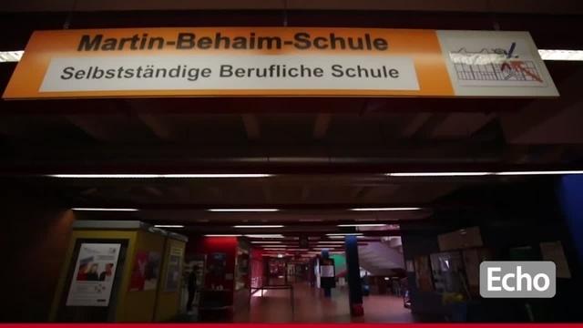 Asbestfund: Proteste an der Martin-Behaim-Schule in Darmstadt