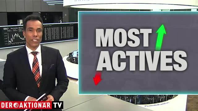 Most Actives - Wirecard, Amazon und Apple