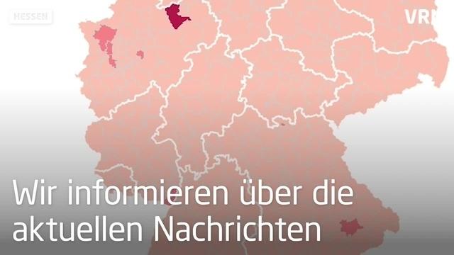 Corona-Ausbreitung in Hessen