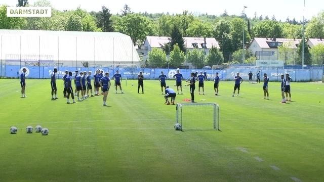 SV Darmstadt 98: Training und Quarantäne