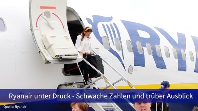Aktie im Fokus: Ryanair unter Druck - Schwache Zahlen und trüber Ausblick