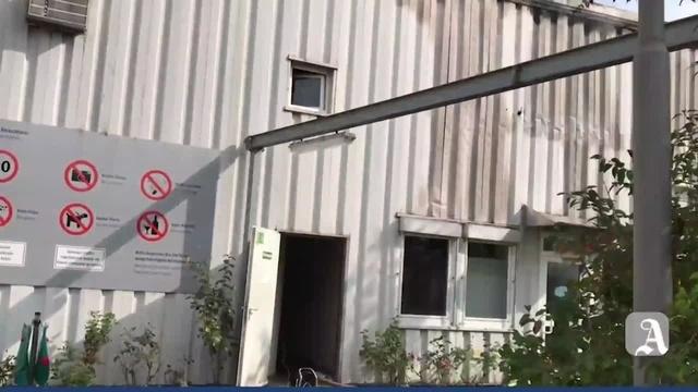 Budenheim: Brand auf Gelände der chemischen Fabrik