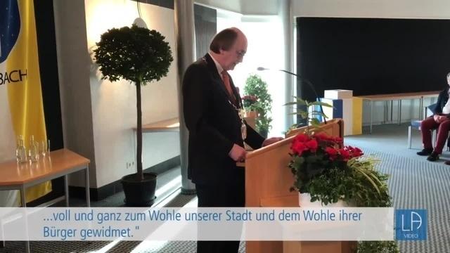 Kurt Habicht wird die Ehrenbürgerwürde verliehen