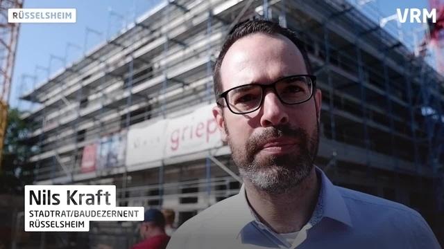 Rüsselsheim: Richtfest an Alexander-von-Humboldt-Schule