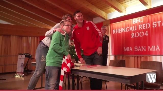 Obergladbach: Weihnachtsgeschenk des FC Bayern