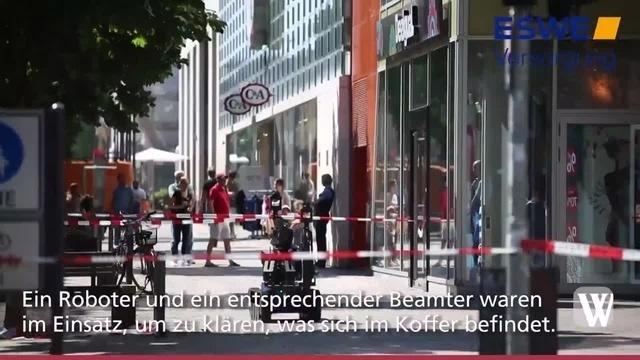 Wiesbaden: Luisenforum wegen herrenlosem Koffer geräumt