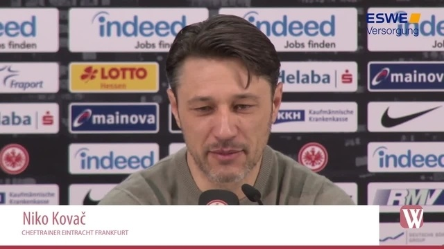 Eintracht: Niko Kovac - Gladbach ist der Favorit!