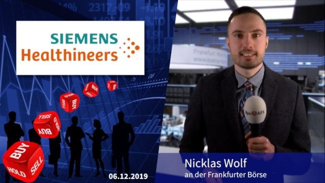 Analyser to go: Kursrally bei Siemens Healthineers verfrüht