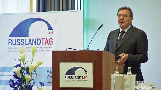 Russlandtag mit Gerhard Schröder