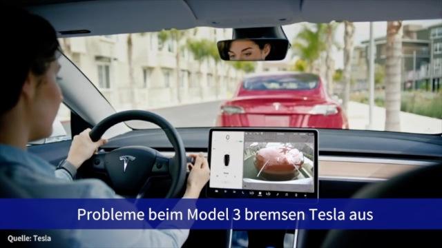 Aktie im Fokus: Probleme beim Model 3 bremsen Tesla aus