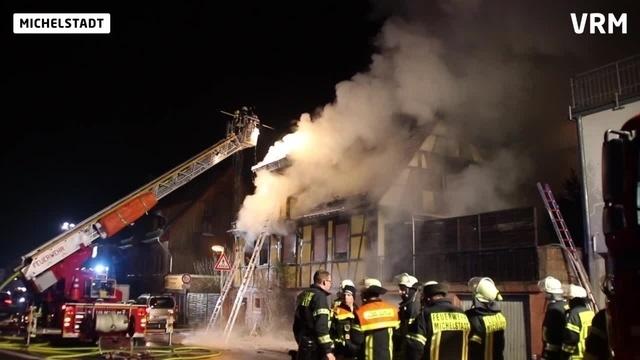 Frau stirbt in brennendem Haus in Michelstadt