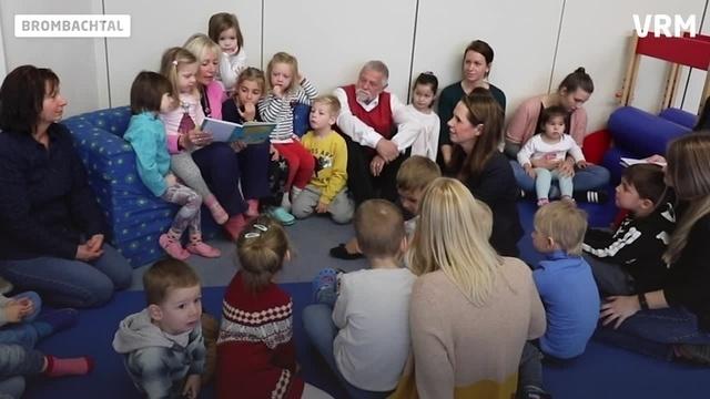 Vorlesetag: Kristina Sinemus zu Gast im Kindergarten