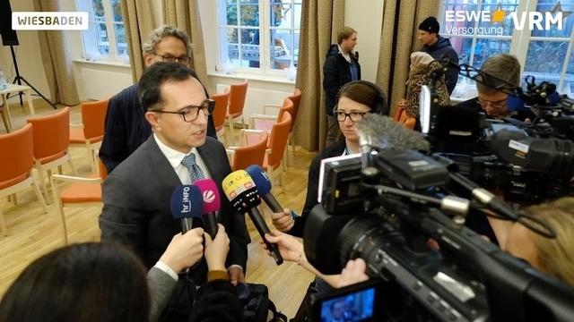Pressekonferenz der Awo in Wiesbaden: Murat Burcu