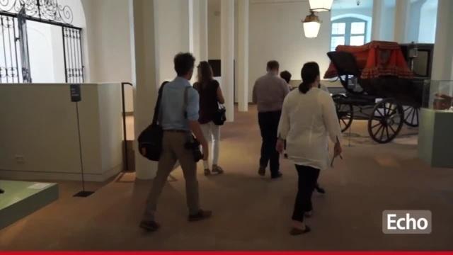 Das Schlossmuseum in Darmstadt eröffnet wieder
