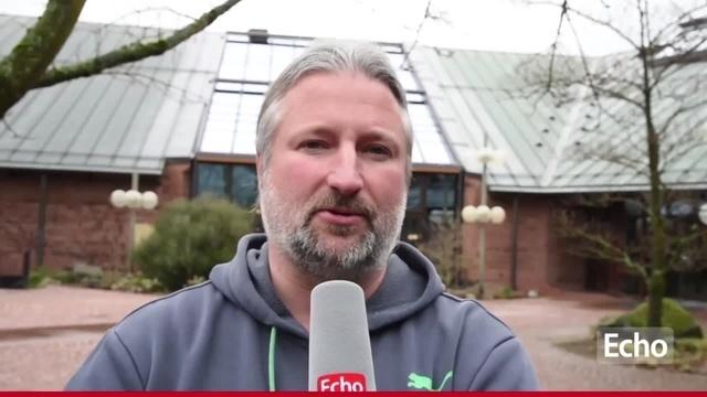 Jan Felber vor der Partie der Lilien gegen Mainz 05