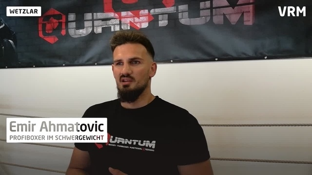 Interview mit Profiboxer Emir Ahmatovic