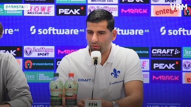 Pressekonferenz zum Spiel gegen Karlsruhe