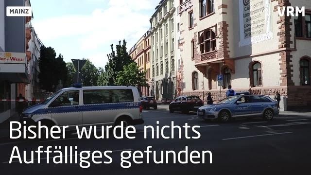 Bombendrohung am Mainzer Amts- und Landgericht