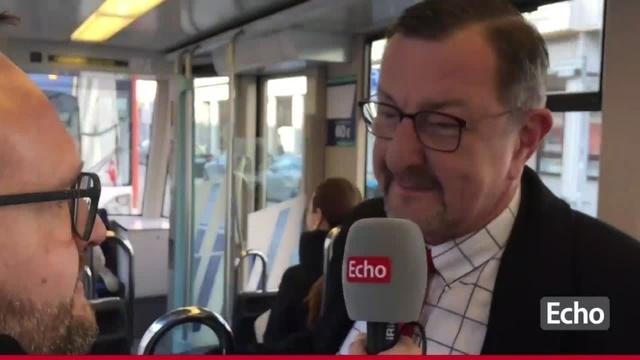 Straßenbahn-Interview zur Darmstädter OB-Wahl mit Michael Siebel SPD