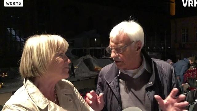 WZ-Leser bei der Medienprobe der Nibelungen-Festspiele
