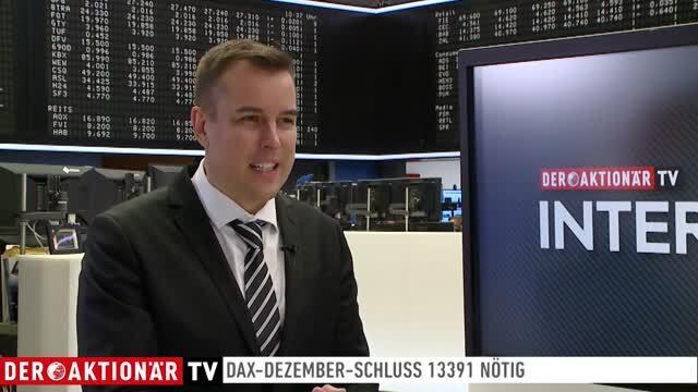 Jochen Stanzl: DAX unter 13.000 - aber auf den Monatsschlusskurs kommt es an