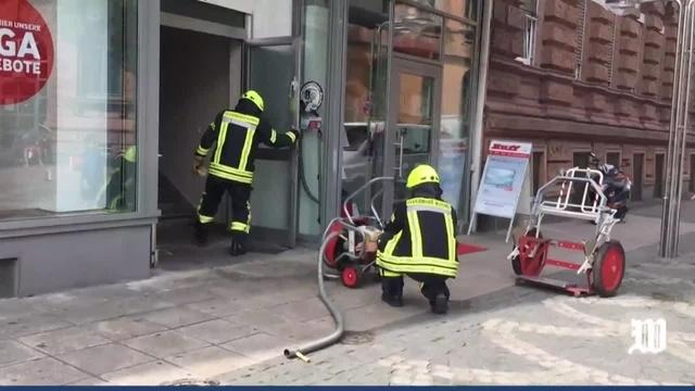 Feuerwehreinsatz am Wormser Obermarkt: Schnitzel angebrannt