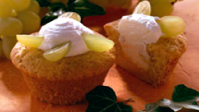Herbstliche Trauben-Muffins