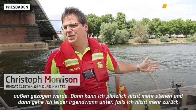 Wiesbaden: Kontrollfahrt auf Rhein und Main