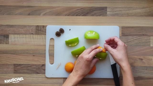 Mach mit: Apfel-Kruschel