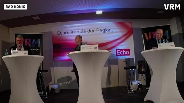 Echo-Podium zur Bürgermeisterwahl in Bad König Teil 2