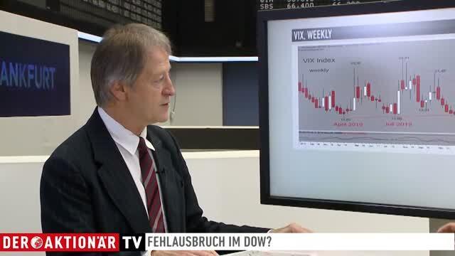 Christoph Zwermann: Die letzten Wochen 2019 bleiben spannend: Fehlausbruch im Dow? Tiefere Stände im DAX?