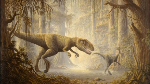 Die Raubsaurier von Pangäa